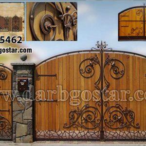 درب های مدرن درب تلفیقی کد 5462